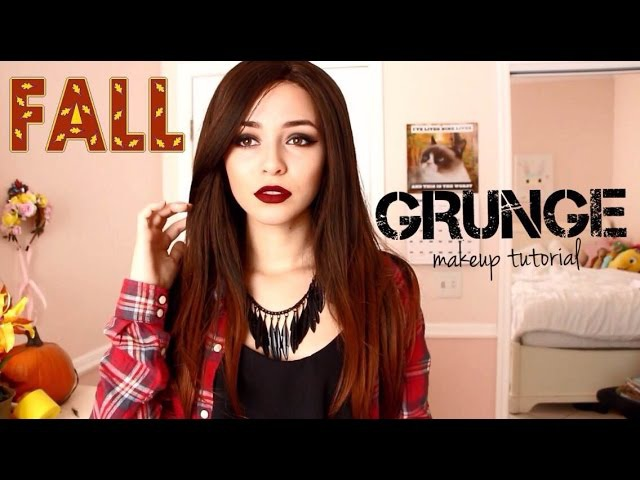 Fall Grunge/Vampy Makeup Tutorial