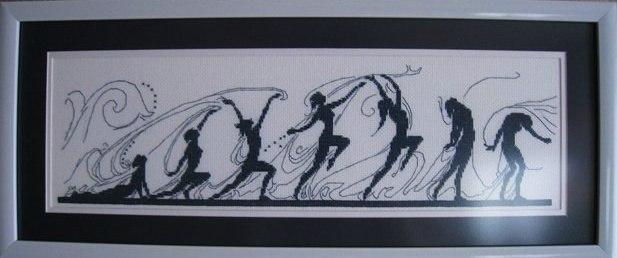 Танец жизни(вышивка).