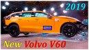 Фронтальный краш тест Volvo V60 2018