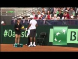 Davis Cup 2014. Andy MURRAY-Donald YOUNG
