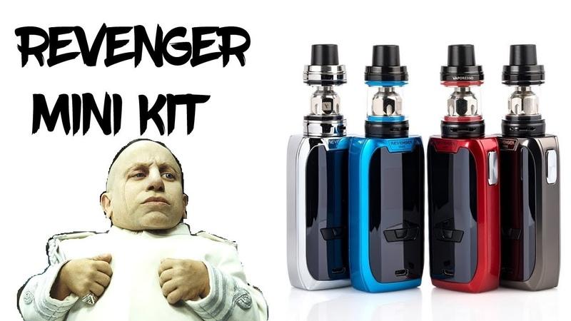 обзор Vaporesso Revenger Mini Kit | Sourcemore.com