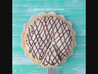 Торт на сковороде! Рецепт под видео