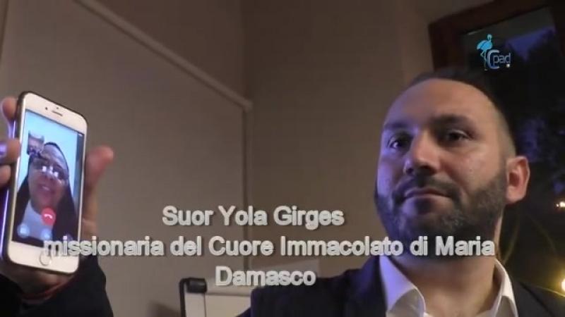 Suor Yola Girges racconta la Siria con gli occhi di chi vive a Damasco