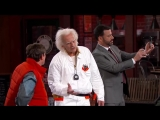 Marty McFly Doc Brown Visit Jimmy Kimmel Live (озвучил Андрей Бочаров)