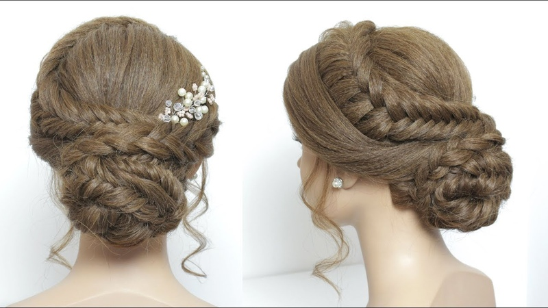 Perfect Party Hairstyle For Long Hair Tutorial.