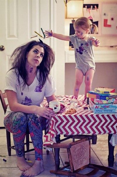 И все равно каждая мама скажет что дети это счастье! ну и пусть левый глаз дергается 😂