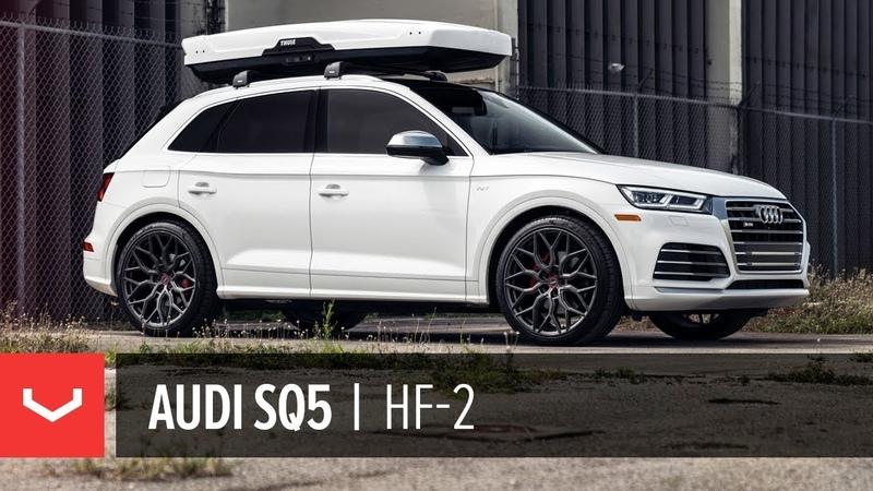 Kats Audi SQ5 | Vossen Hybrid Forged HF-2 Wheel | Anthracite