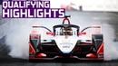 Qualifying Highlights | 2019 FWD Sanya E-Prix | ABB FIA Formula E Championship