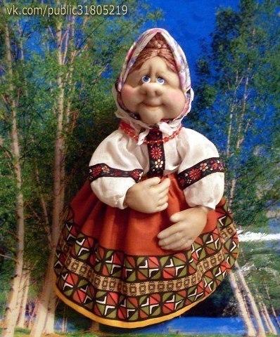 ✨ Кукла из капроновых чулок и носков ============================== ✂ #hand_made #сделай_сам #мастер_классы