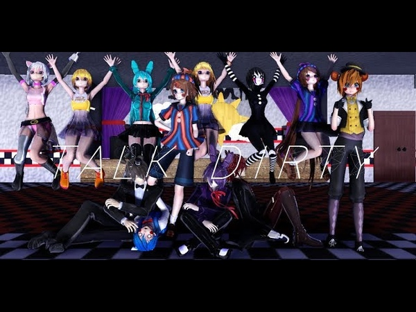 【MMD x FNAF】Talk Dirty [ Especial 200 subs !! ]