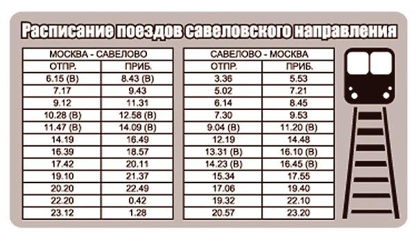 Кимры-инфо » расписание