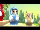 Крошки-Матрёшки.Развивающий мультфильм для малышей от 0 лет. Изучаем цвета и учимся считать!