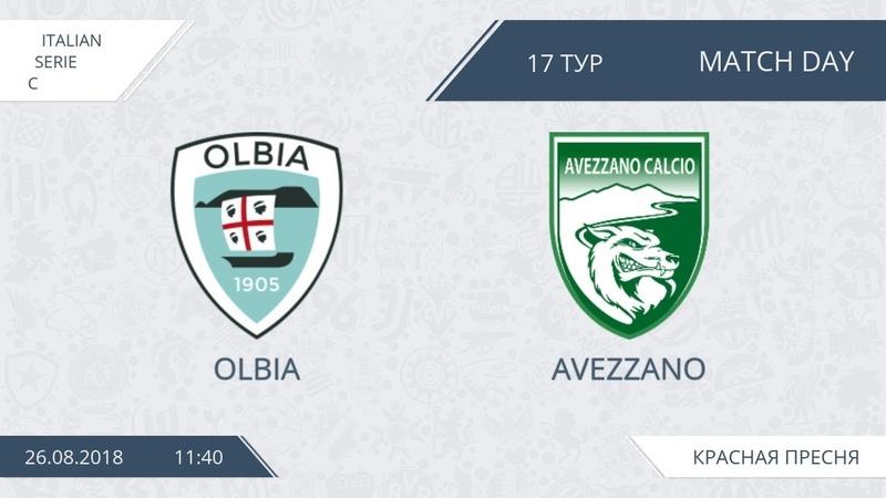 AFL18. Italy. Serie C. Day 17. Olbia - Avezzano