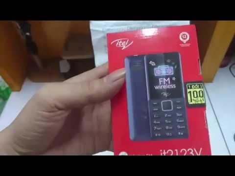 Điện thoại itel it2123V giá rẻ 2 sim pin 1000 mAh chính hãng