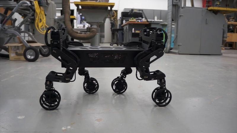 Hyundai Elevate Concept Robot Capabilities ces 2019