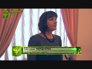 В Луганске состоялся бал лицеистов «В ритме осенних мелодий…»