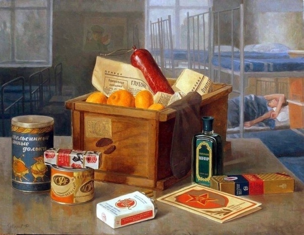 Картина  «Сон солдата», 1990 г.