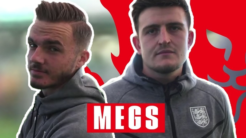 I Want a Review on the Movement! | James Maddison v Harry Maguire | Megs | England