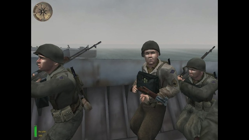 Medal of Honor: Allied Assault (03) Омаха-Бич