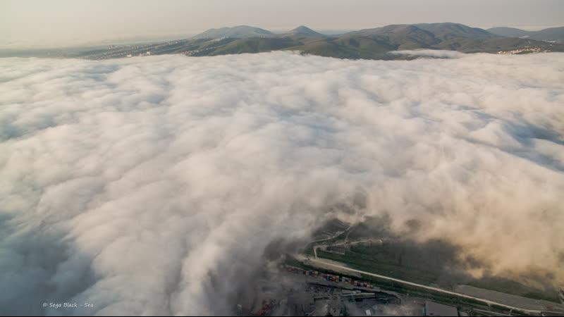 Туман, Новороссийск 26 апреля 2019 г.