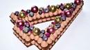 Шоколадный ТОРТ ЦИФРА ☆ Торт Ёлочка ☆ Шоколадный крем