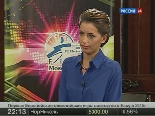 Ведущая Татьяна Столярова. Интервью Алишера Усманова.