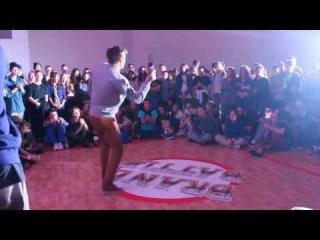 Mak Easy | Hip Hop 1x1 Preselection | Brand Battle 2013 | Judge Paradox | Dj Puuu
