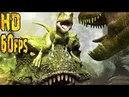 HD Лучший фильм про динозавров Тарбозавр 60fps Cartoon about dinosaurs Tarbosaurus 720
