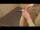 Плетение из лозы Рамка для зеркала 2 Подсолнухи Wickerwork