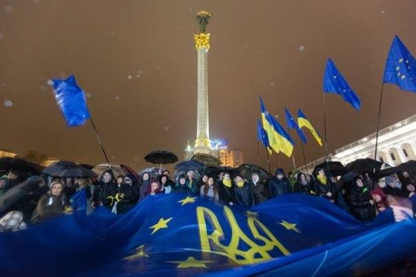 По Украине прокатилась волна Евромайданов: во Львове вышло 10 000 - Цензор.НЕТ 1708