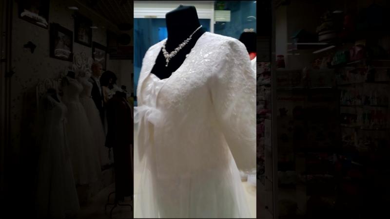 Эксклюзивный свадебный жакет 2