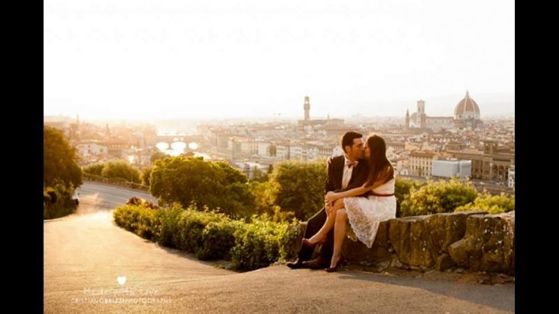 Романтическая прогулка по Риму во время свадебного путешествия Александра и Евгении.
