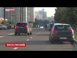 Водитель BMW X3 сбил офицера Следственного комитета в Москве