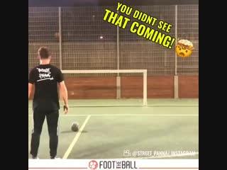 Wait for it! ️ - via @street_panna - - panna nutmeg golazo streetsoccer football skills HereToCreate NIKEFOOTBALL soccer FootThe