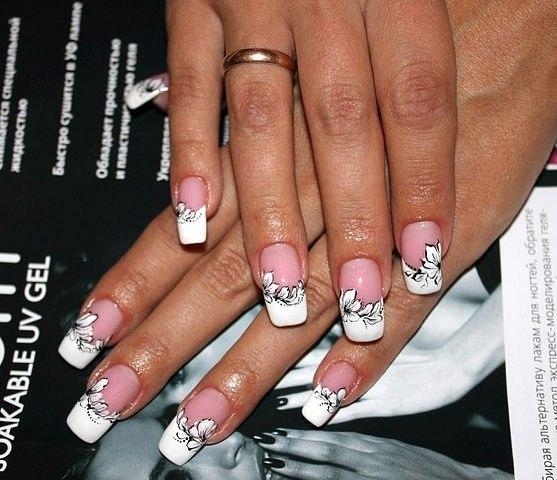 Красивый дизайн ногтей самой