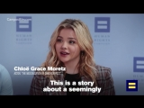 Chloë Grace Moretz on LGTBQ