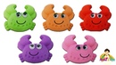 Lean Colors with Kinetic Sand Crabs Learn Colors with Aysha Education Videos for Kids
