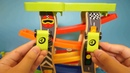 Children's gliding car toys, early childhood games that recognize colors and numbers