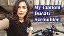 Custom Ducati Scrambler Cafe Racer | Meghan Stark