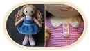 Вязаная кукла крючком Розали часть 6 Воротник Crochet doll Rosalie part 6 Collar