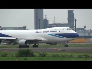 Nippon Cargo Airlines Boeing 747-400F - Narita, JP