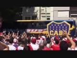 #necro_tv Ад в Буэнос-Айресе. Игра Ривер Плейт Бока Хуниорс под угрозой срыва. Автобус Боки закидали камнями