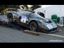 Единственную в своём роде Ferrari P4 5 Competizion неправильно сгружают с автовоза