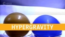 Air and water balloons in hypergravity