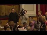 Юрий Яковлев на премьере спектакля Село Степанчиково и его обитатели