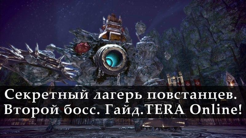 Секретный Лагерь Повстанцев Гайд Второй босс TERA Online