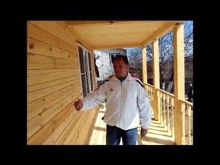 Отзыв о строительстве дома из бруса