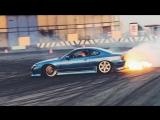 Лютые выстрелы Nissan Silvia S15 Sergey Stilov #stilovdaily