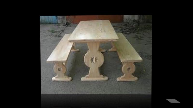 Малые формы ! (7) Бытовые элементы ! Столы, лавочки, табуреты и стульчики !