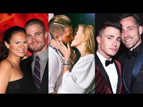 Arrow ... and their real life partners
